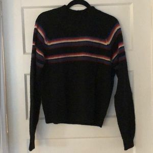 Free People Stripe Retro Sweater